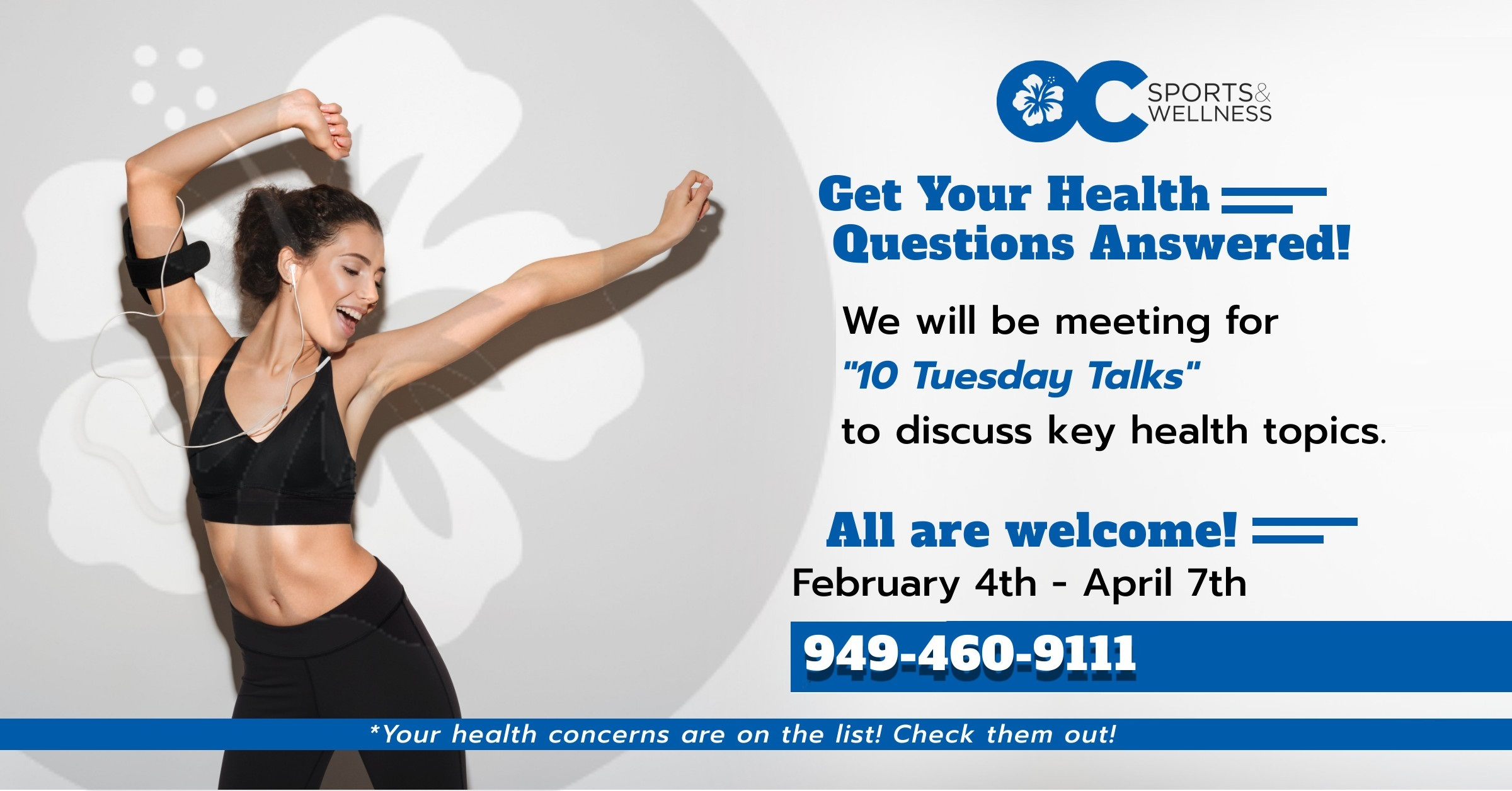 Get Your Health Questions Answered!