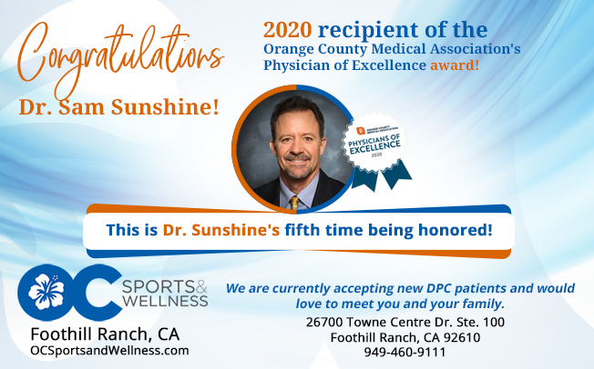 Congratulations Dr. Sunshine!